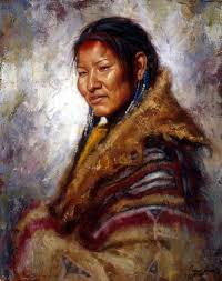 artist james ayers has sold cloaked in her robe which features a lakota woman james ayers specializes in paintings of native americans