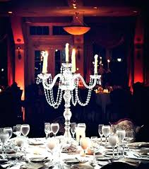 crystal tabletop chandelier centerpieces for weddings table candle kitchen delectable centerpiece enchanting