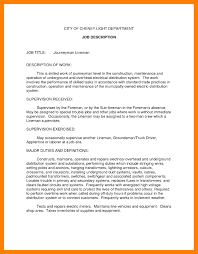 Good Summary For Job Resume Best Of 9 Job Summary Examples