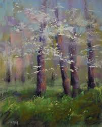 the challenges of painting the spring landscape