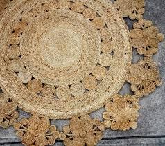 jute rug round finest new jute round rug natural handmade sisal hemp carpet cm chunky jute