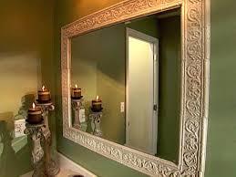 framed bathroom mirrors diy. Bathroom Mirror With Frame How To Build A Around Framed Mirrors Diy F