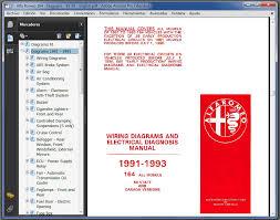 alfa romeo 164 1988 1997 workshop manual and diagrams 2 alfa romeo 164 wiring diagrams 1991 1993