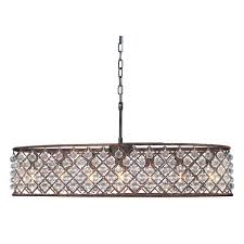 cassiel oil rubbed bronze oval crystal chandelier on free today com 16171907