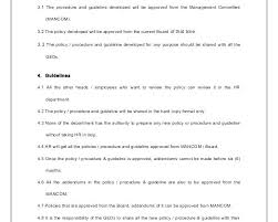 Accounting Manual Template Free Download Accounting Manual Template Free Download Template For Policies And