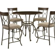 Iron Table And Chairs Set Kitchen Plan Metal Kitchen Table Sets Wood And Metal Kitchen