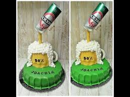 How To Make Beer Mug 3d Cake Youtube