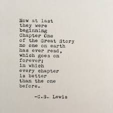 Quotes From Cs Lewis Extraordinary CS Lewis Love Quote Chronicles Of Narnia Typed On Typewriter