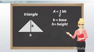 Basic Geometry Rules Formulas