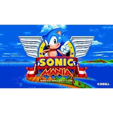sonic mania nintendo nintendo switch digital 0004549659207 sega walmart