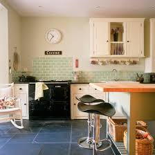 country kitchen painting ideas. Modern Country Kitchen With Green Tiles | Colour Ideas - Home Trends Housetohome Painting I