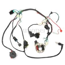 50 70 90 110 125cc cdi wire harness stator assembly wiring set atv 50 70 90 110 125cc cdi wire harness stator assembly wiring set atv electric quad 3 3 of 12