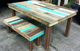pallet outdoor bench diy. Diy Pallet Dining Table Instructions Outdoor Bench Special Room Decor Farmhouse