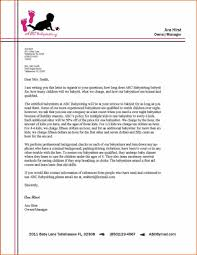 Example Business Letter Templates Of Simple Business Letter Quote