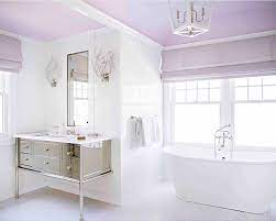 bathroom painting ceiling same color as