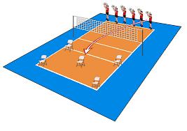 chair volleyball net. diagram chair volleyball net