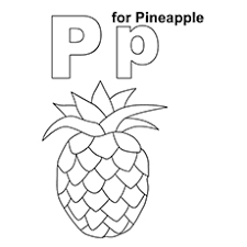Small Picture 10 Best Pineapple Coloring Pages For Toddlers