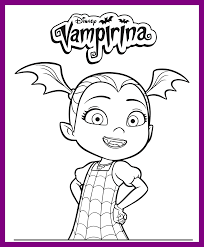 Disney Junior Vampirina Coloring Pages Master Coloring Pages