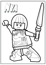 Coloring Pages Lego Ninjago Kai Cole Sweetestleafco