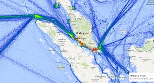Malacca Strait Ship Traffic Ship Traffic