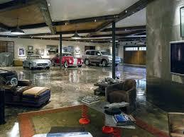garage inside. Interior Garage Design Led Track Lights With Hanging Down Pendant Lamps Inside Of Luxury Home .