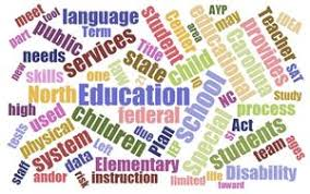 Early Childhood Education Terminology Chart Educational Term Glossary Moore County Schools