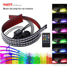 How To Install Led Lights In Car Exterior Waterproof Atmosphere Music Led Lights Strip Car Exterior Chassis Car Tail Lamp Strip 58 Led Waterproof Led Strip Lights Outdoor Led Strip Lighting