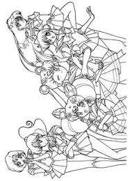 Small Picture Tsuki matsuri the sailormoon coloring book archive Sailor Moon