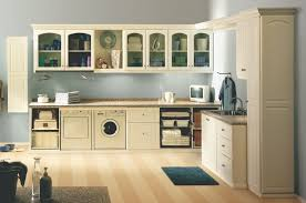 Interior:Laundry Room Design Idea With Mdf Wall Cabinets And Ironing Board  Lovely Beige Laundry
