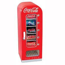 Retro Vending Machine Vol 1 Simple Koolatron Brings Together Functionality And Fun With The CocaCola