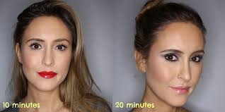 quick party makeup tutorials for when you ve only got 10 or 20 minutes and you re freaking out