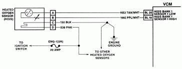 4 wire o2 sensor wiring diagram, injected electronic engine 5 wire oxygen sensor wiring diagram at 4 Wire O2 Sensor Wiring