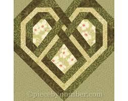 Celtic Heart quilt block paper pieced quilt patterns instant & 🔎zoom Adamdwight.com