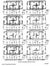 power seatcar wiring diagram 8 circuit positions of power seat switch of 1967 1968 thunderbird posted in automotive wiring ford tagged circuit diagrams