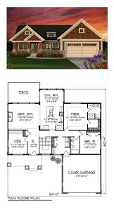 lake house floor plans with walkout basement luxury 124 best craftsman house plans images on