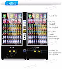 Used Snack Vending Machine Beauteous China 48 Snack And Drink Combo Vending Machine With Ce Used Snack