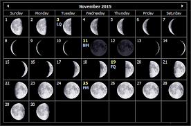 Nov 2015 Moon Phases Auntie Moon