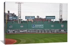 green monster fenway park boston red sox 24 x16 gallery wrapped canvas on boston red sox canvas wall art with green monster fenway park boston red sox gallery wrapped canvas