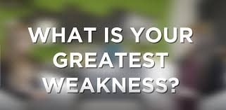 what is your weakness interview question how to answer what is your greatest weakness interview question