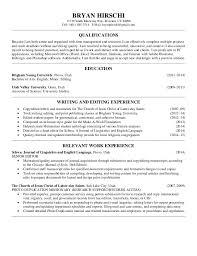 Editor Resumes Writing And Editing Resume 2 21 15