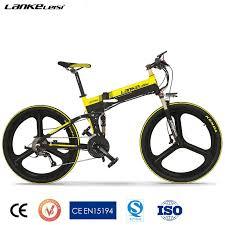 bike EU quality <b>LANKELEISI XT750</b> Z electric <b>26 inch</b> folding <b>27</b> ...