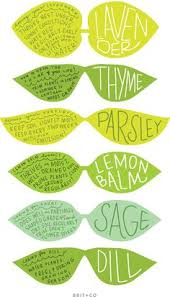 mark your spring herbs in your indoor or outdoor garden with these printable labels indoor