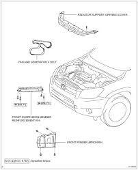 Toyota RAV4 Service Manual: Drive belt - 2Az-fe engine mechanical