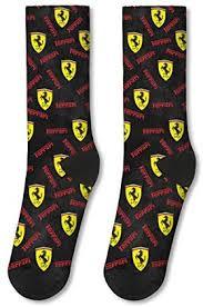 Mens Socks Ferrari Official Site Car Black Running Compression Socks Men Non Slid Long Socks Buy Online At Best Price In Uae Amazon Ae