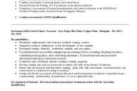 Technical Trainer Resume Technical Trainer Resume Summary