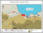 Images & Illustrations of battle of Thermopylae