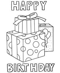 Small Picture Happy Birthday Coloring Pages Happy Birthday coloring Pages