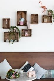 this how to uses one of the small ikea knagglig crates as an example but at le pointu we also used a few big knagglig crates on the wall but sawed them