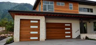 clear glass garage door. Clear-western-red-cedar-with-white-laminate-glass-garage-door Clear Glass Garage Door I
