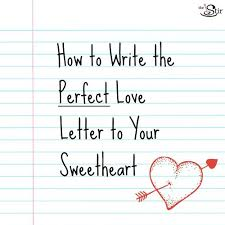Dos Don Ts For Writing The Most Romantic Love Letter Ever Awesome ...